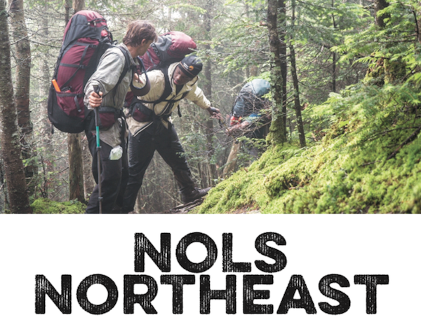 students practice teamwork while backpacking in the Adirondacks in a LOCALadk article on NOLS Northeast