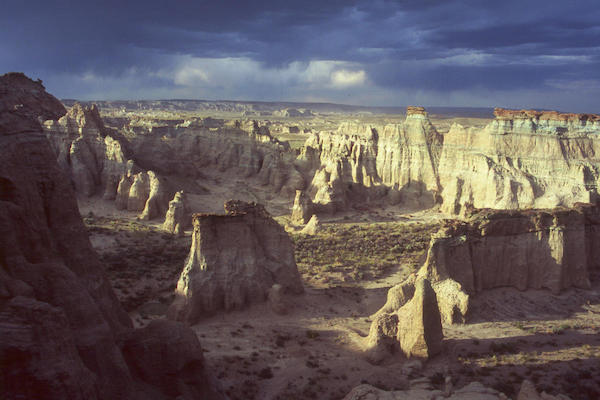 Adobe Town in Wyoming's Red Desert, courtesy of Wyoming Public Media