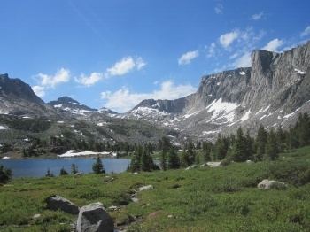 Wyoming's Wind River Range photo by Ian McBride